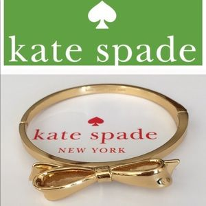 Kate Spade ♠️  New York Bow Bangle Love Notes